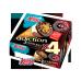 Conos Adiccion 3 Chocolates, 4 Ud.